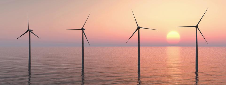 Offshore wind block island